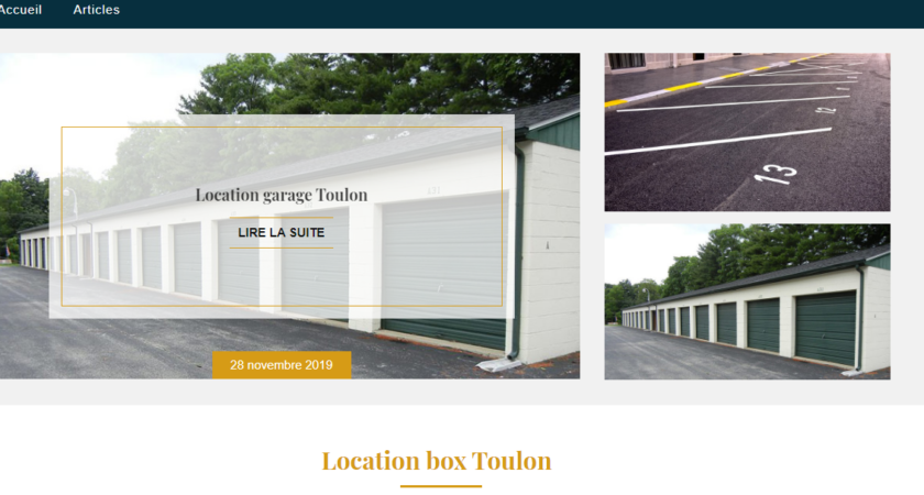 Location-box-toulon.com : prix de la location box Toulon