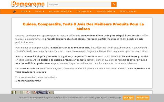 Comparatifs, tests et avis sur les produits du quotidien