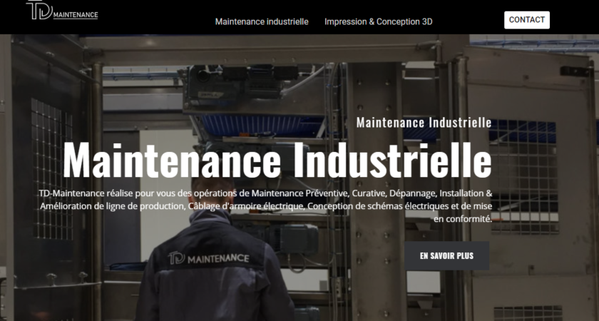 Entreprise de maintenance industrielle