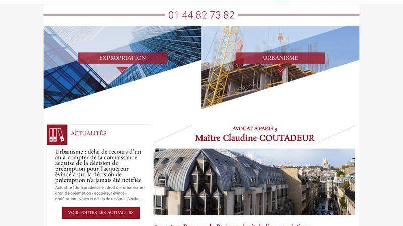 Maître Claudine COUTADEUR, avocat à Paris 9