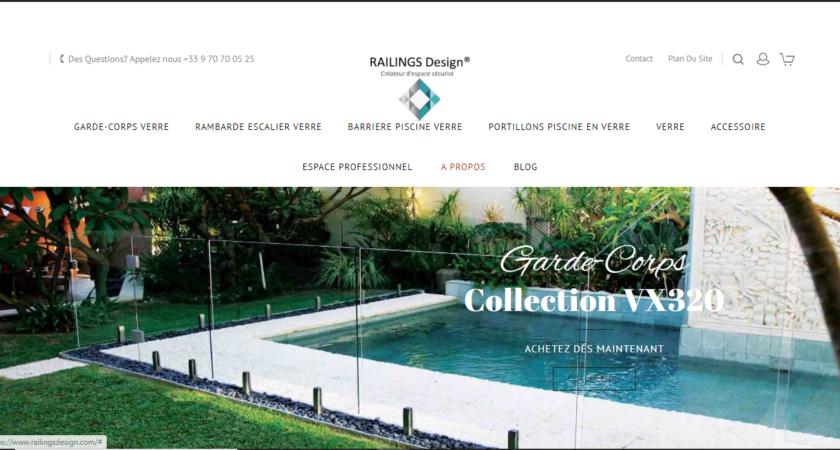 Railings Design : le spécialiste des verres trempés et esthétiques