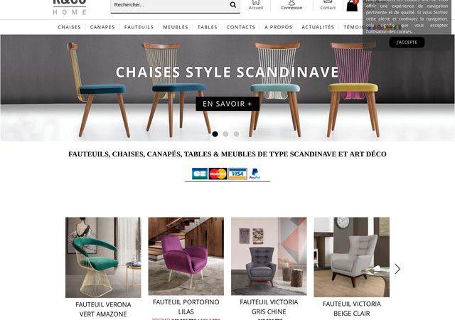 Des meubles de style scandinave à bons prix